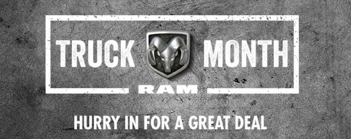 really big ram truck month