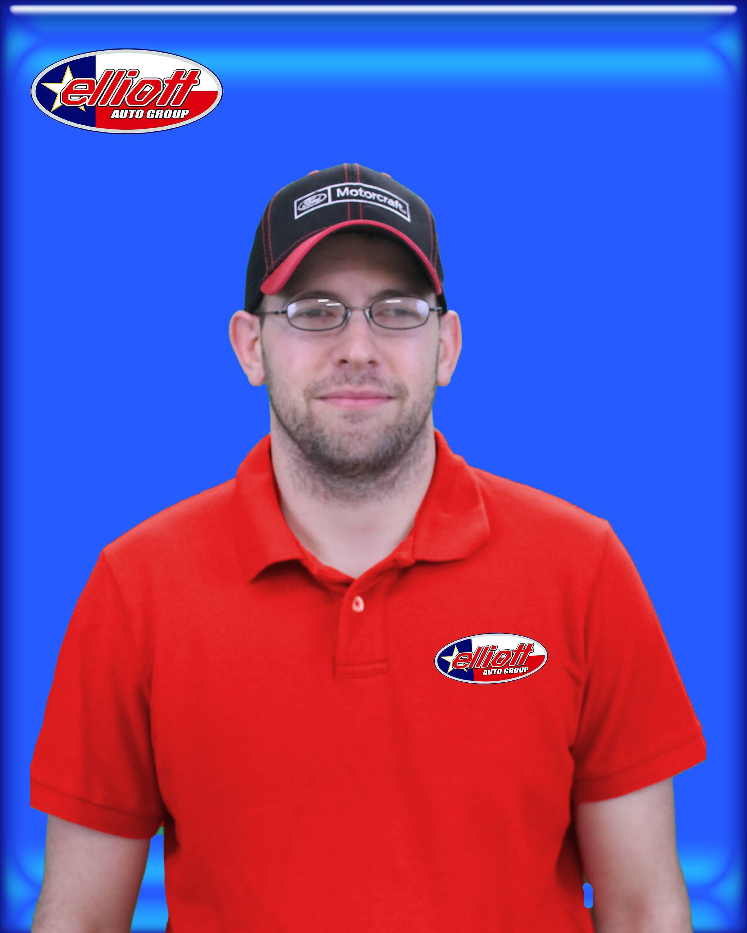 Jeremy Goodson, Ford Parts Advisor