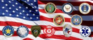 First Responder and Military