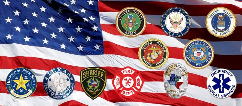 Military and First Responders Lunch | Elliott Auto Group