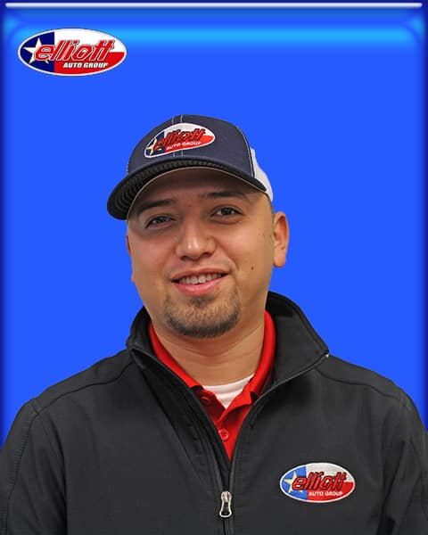 Adrian Guererro, Dodge Service Advisor