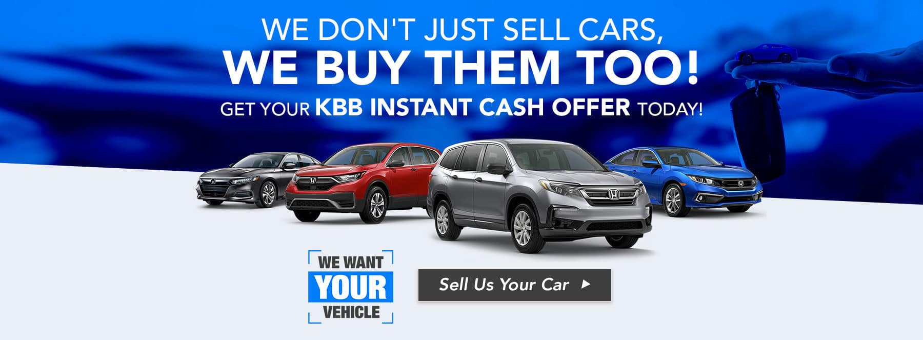 We Buy Cars Honda Only.V2