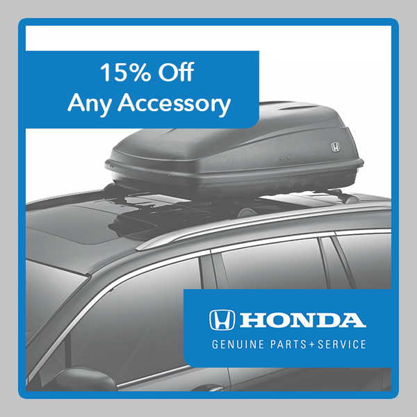 Honda Accessory Coupon
