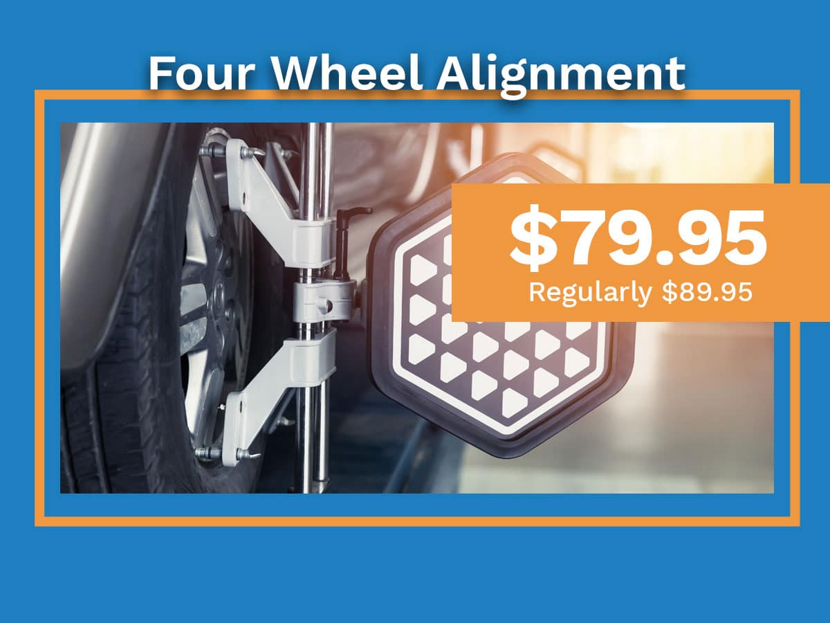 Honda Four Wheel Alignment Special