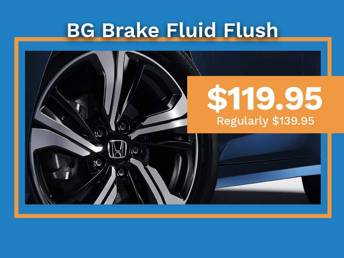 BG Brake Fluid Flush Special