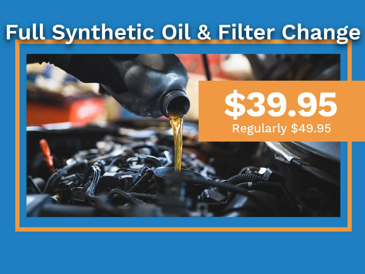 Honda Full Synthetic Oil U0026 Filter Change Special