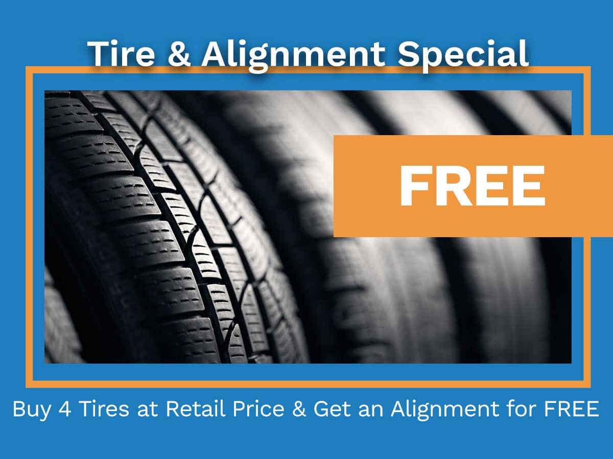 Tire Alignment Special Coupon