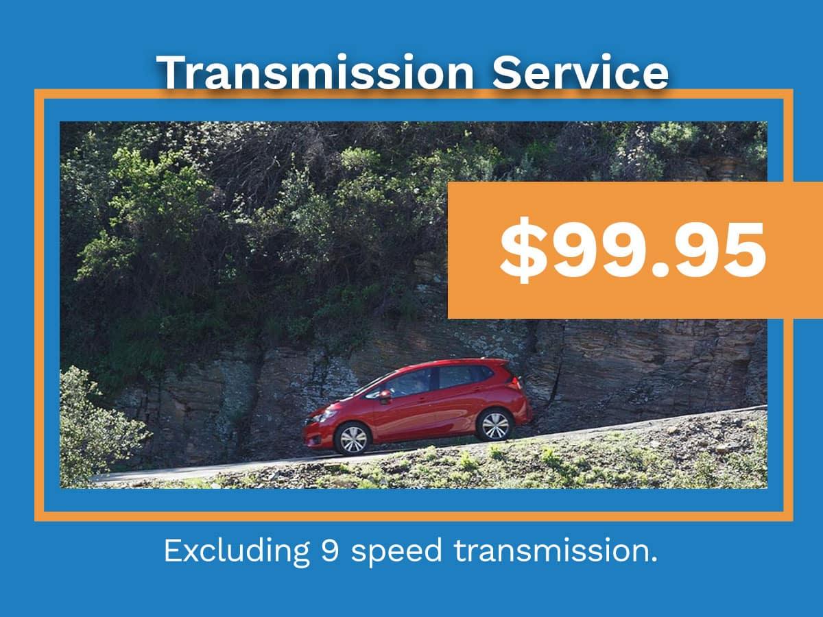 Honda Transmission Service Coupon