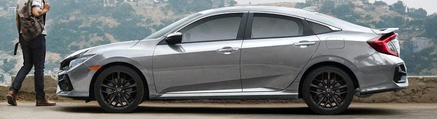 2020 Honda Civic Parked
