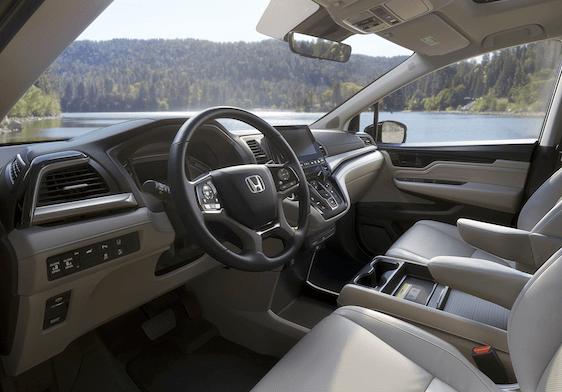 Honda Odyssey Interior Technology