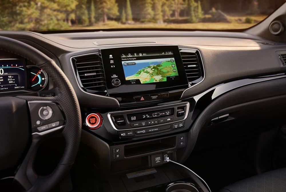 Honda Passport Interior Technology