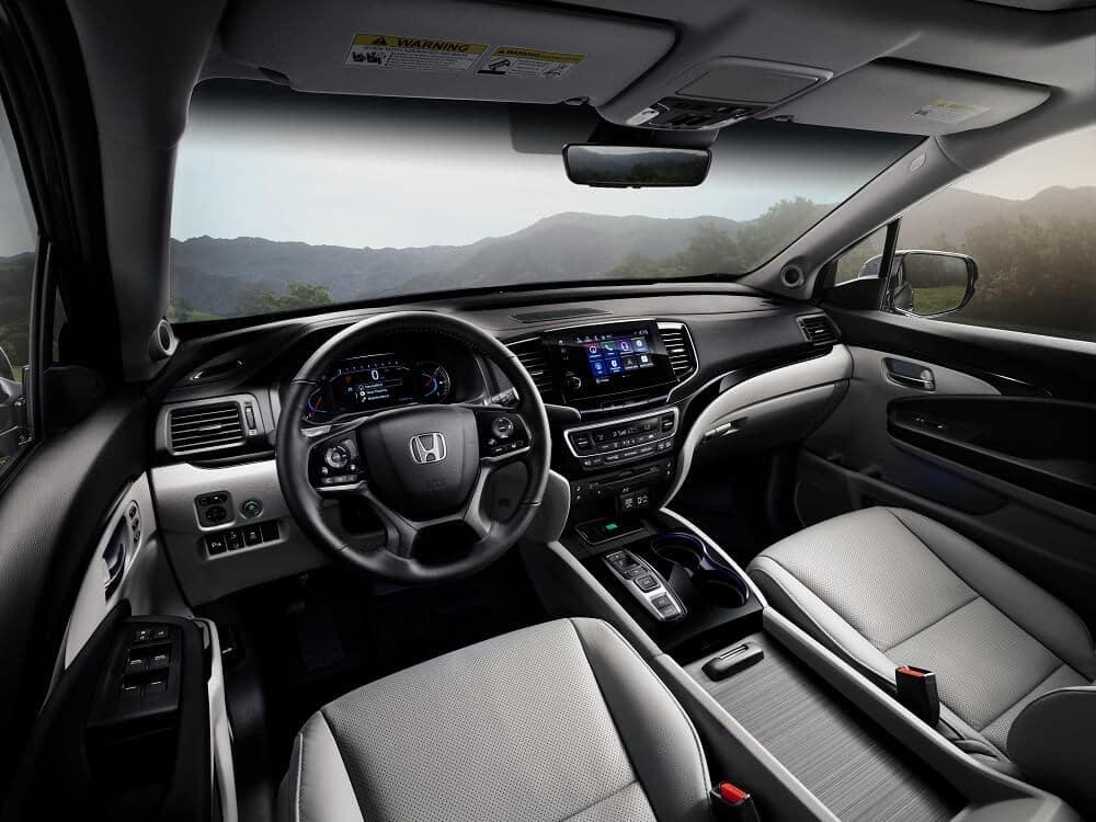 Honda Pilot Interior Features