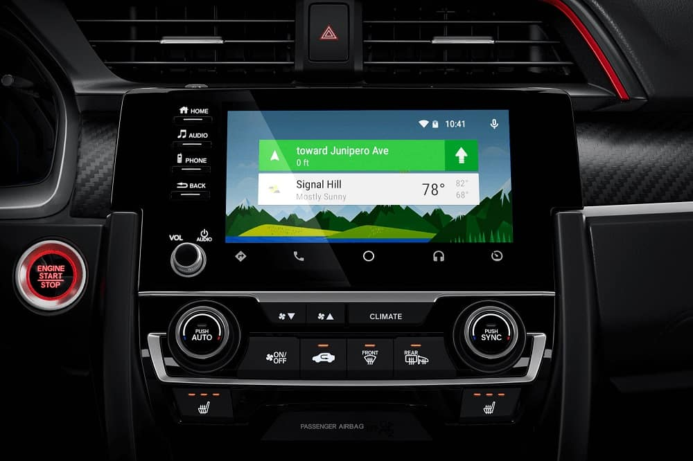 2020 Honda Civic Touchscreen
