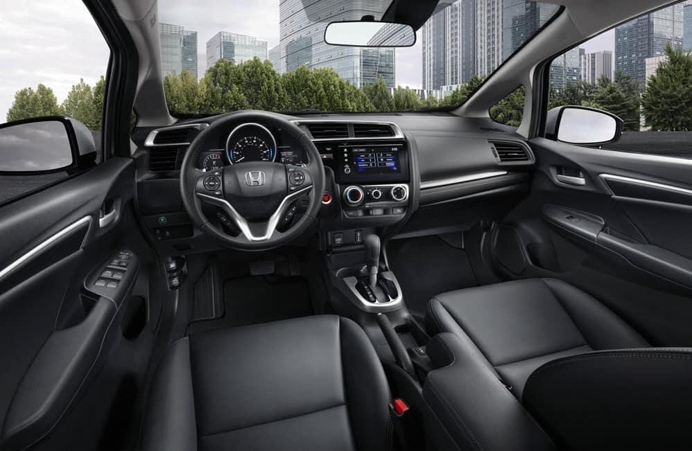 Honda Fit Interior Technology