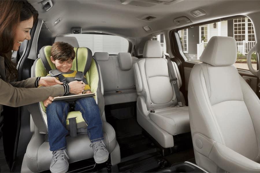 Honda Odyssey Interior Space