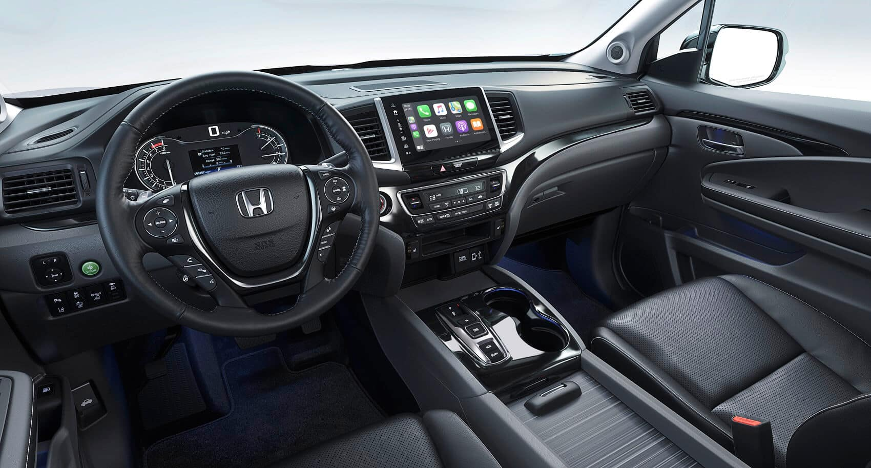 2020 Honda Ridgeline Interior Apple CarPlay® Technology