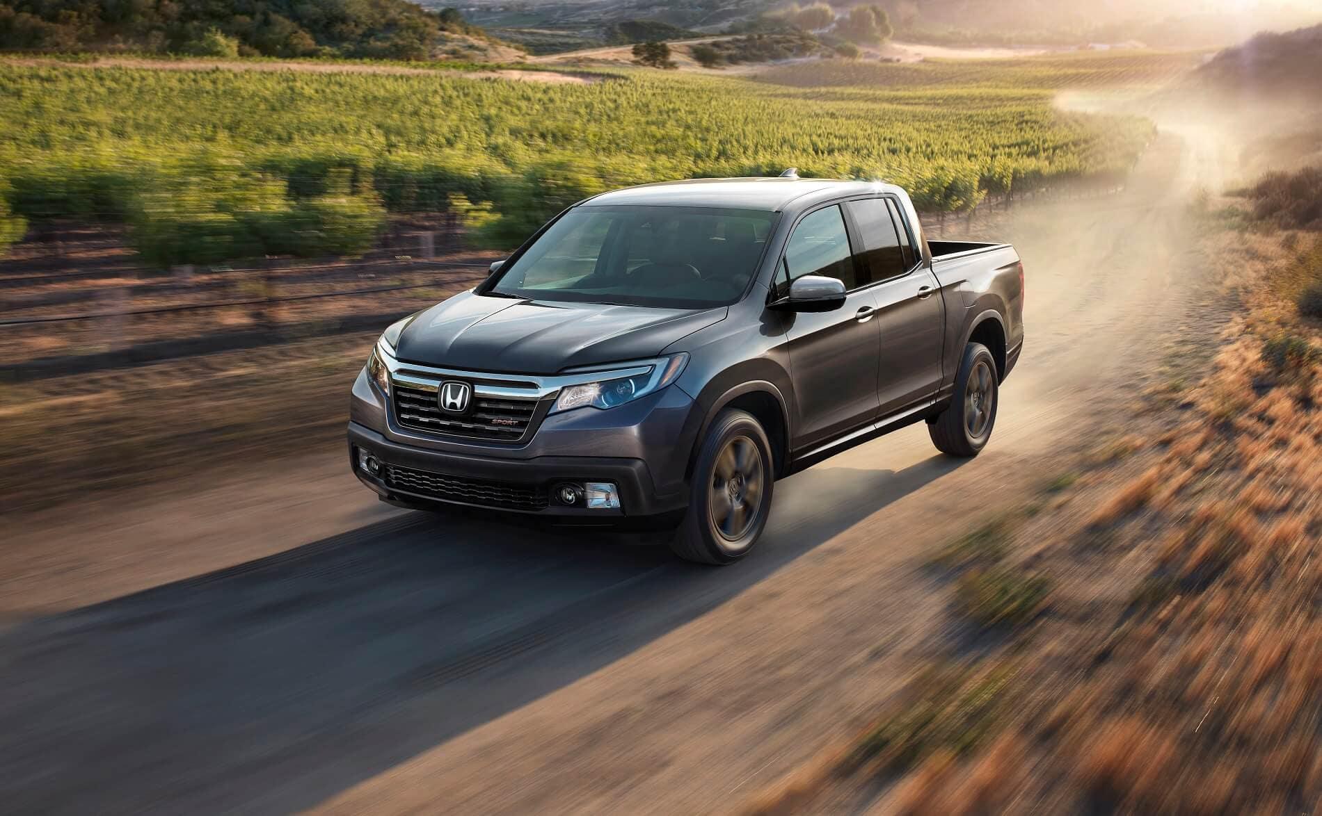 2020 Honda Ridgeline Driving