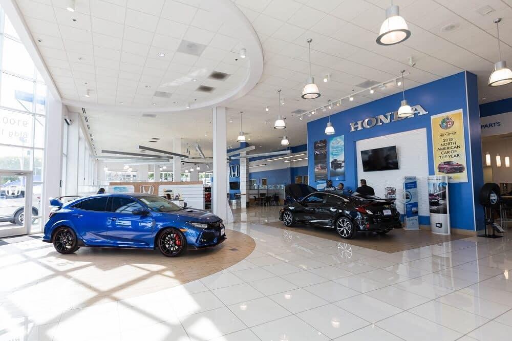 Inside Northside Honda