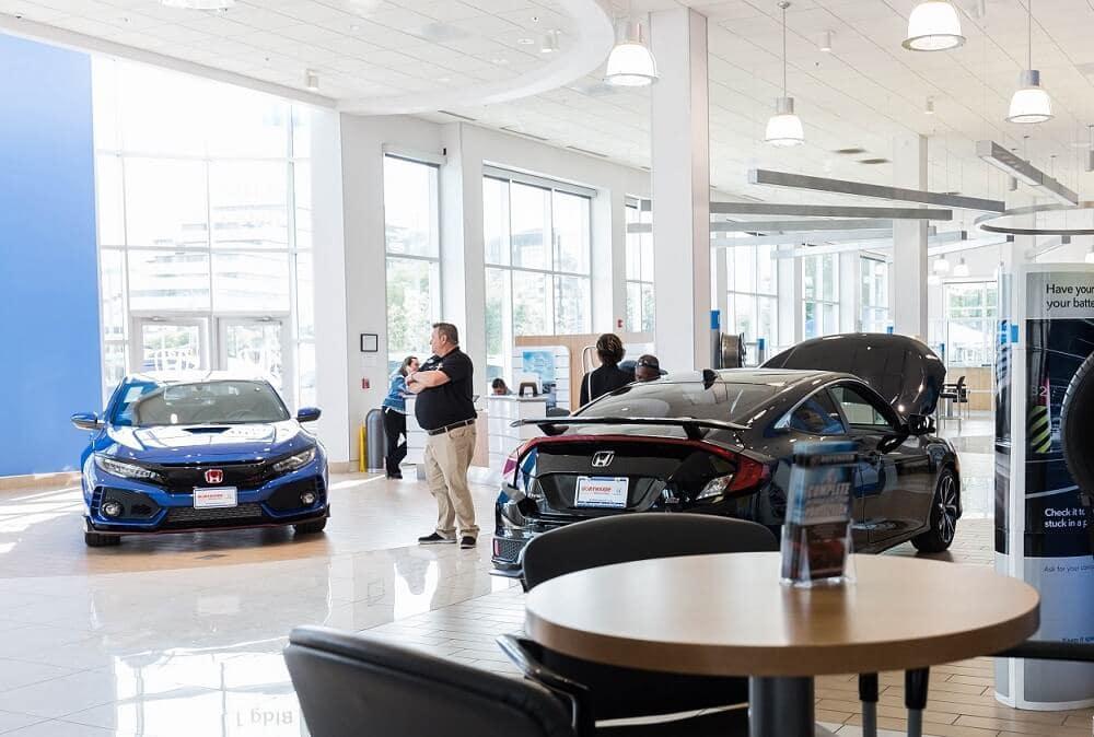 Northside Honda Interior