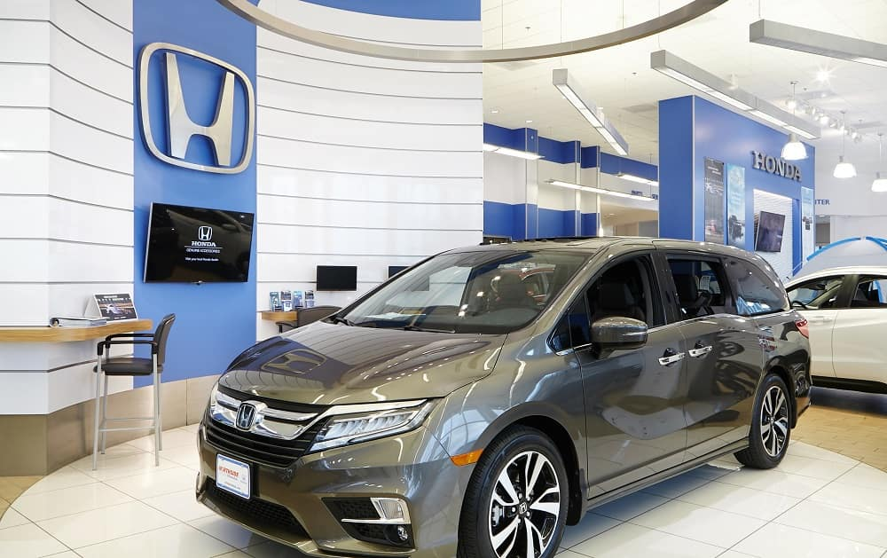 Honda Odyssey Inside Northside Honda