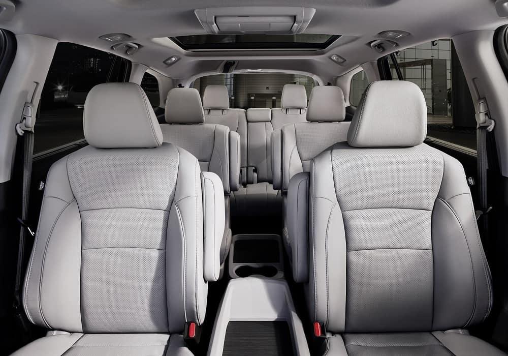 Honda Pilot Interior Space & Seats