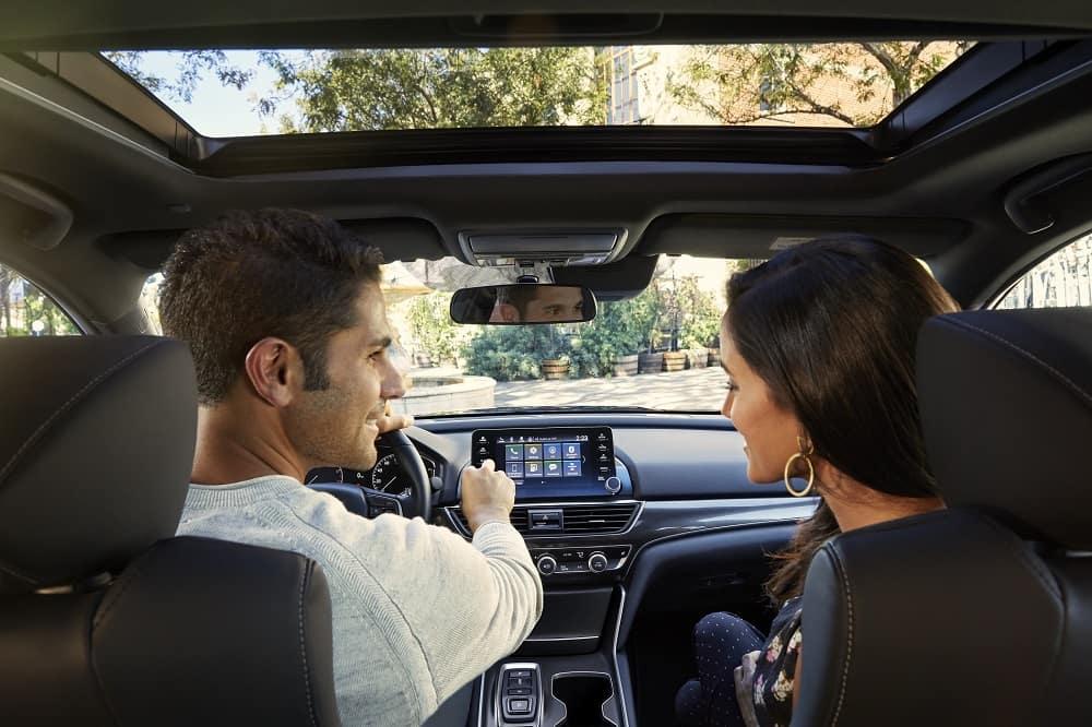 Honda Accord Interior Dashboard Tech