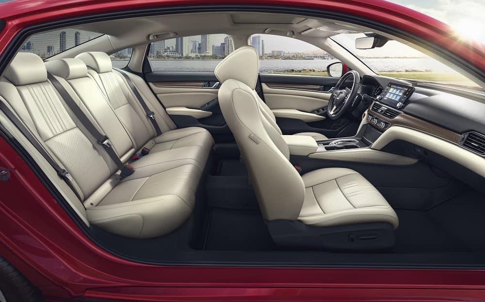 Honda Accord Interior Space