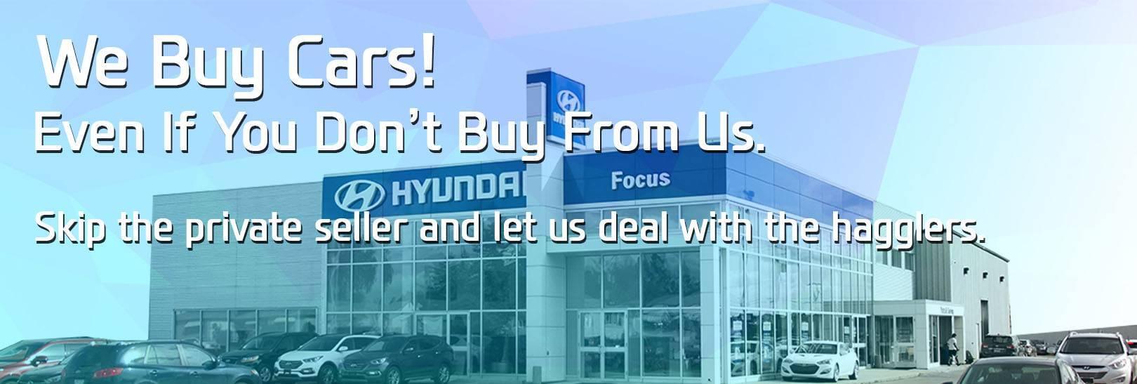 Car Truck Trade In Value Focus Hyundai Near Steinbach