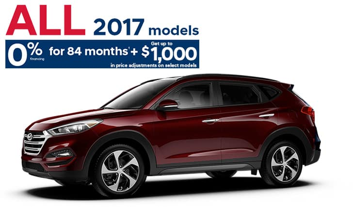 2017 TUCSON AWD 2.0L SE