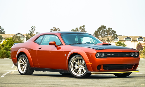 2020 Dodge Challenger in Red.