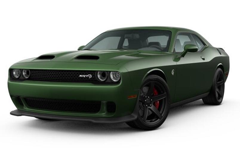 2020 Dodge Challenger SRT Hellcat.