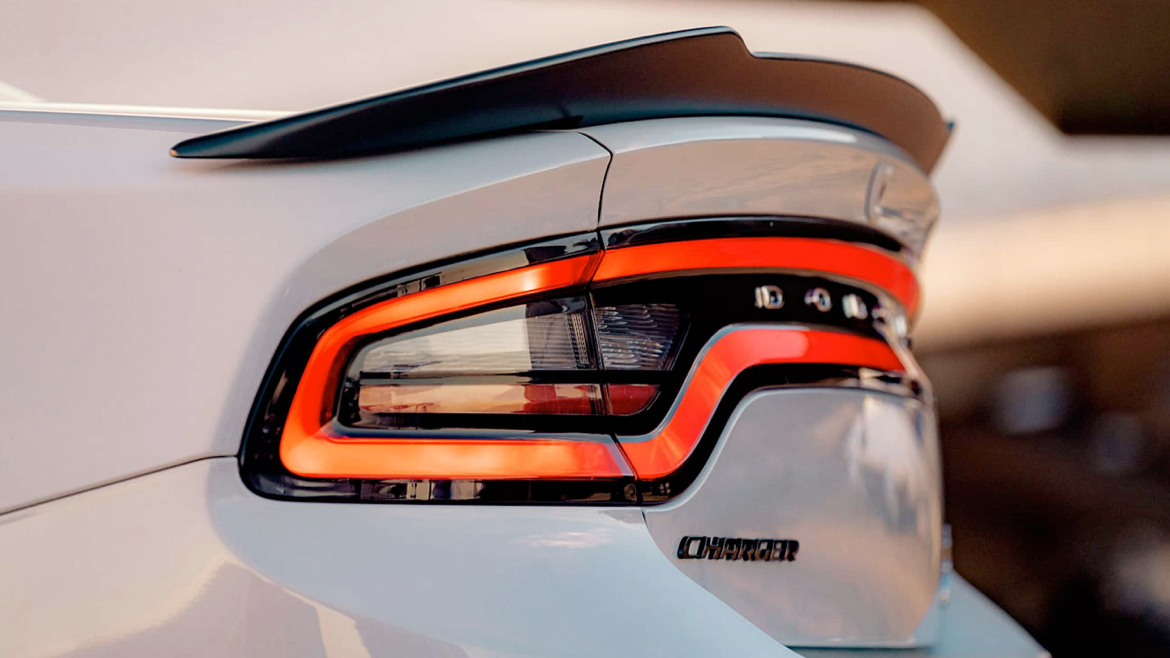 Taillight of the 2021 Dodge Charger.