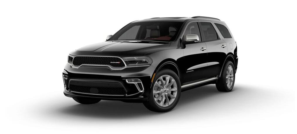 2021 Dodge Durango Citadel in black.
