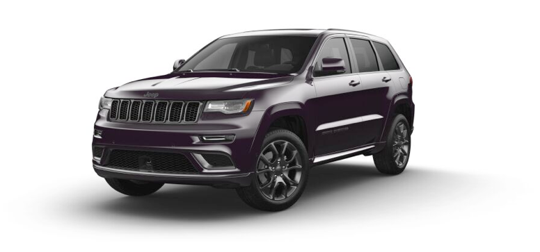 2021 Jeep Grand Cherokee High Altitude in the color Velvet Red Pearl-Coat