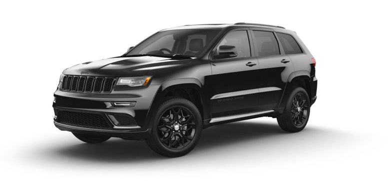 2021 Jeep Grand Cherokee Limited X in the color Diamond Black Crystal Pearl-Coat