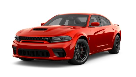 2021 Dodge Charger SRT Hellcat Redeye Widebody in red.