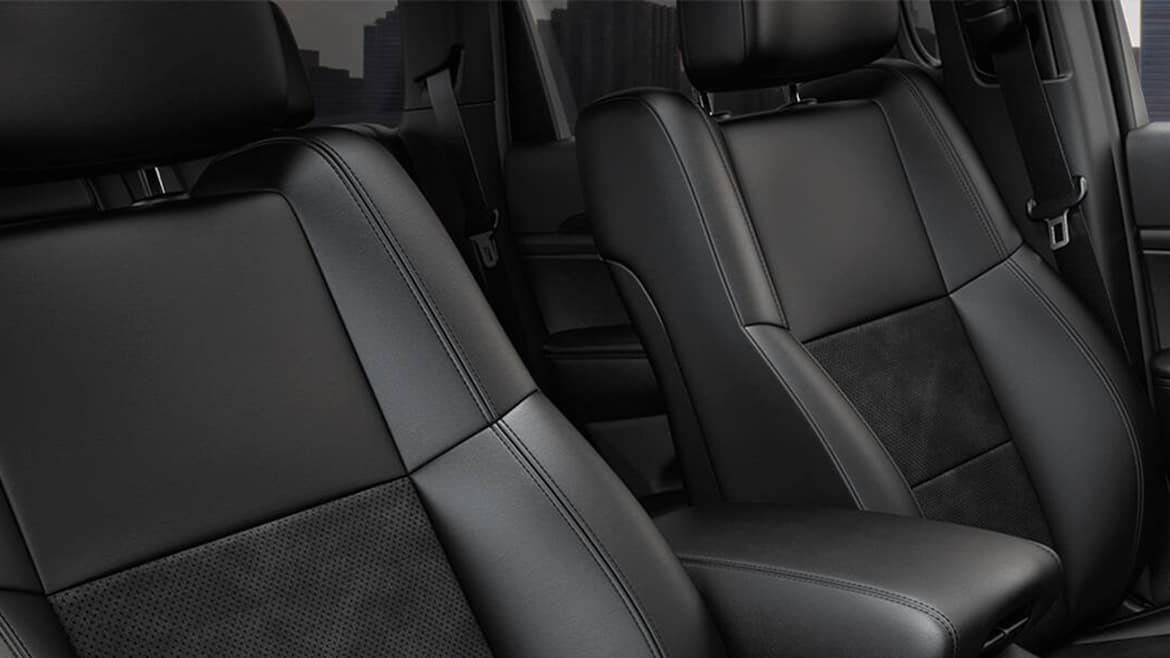 2021 Jeep Grand Cherokee Summit with quilted front seats