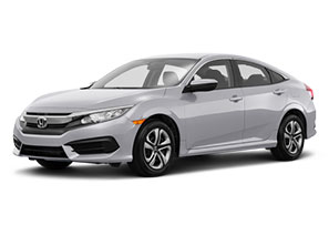 $169 per month lease 2017 Honda Civic CVT LX Sedan