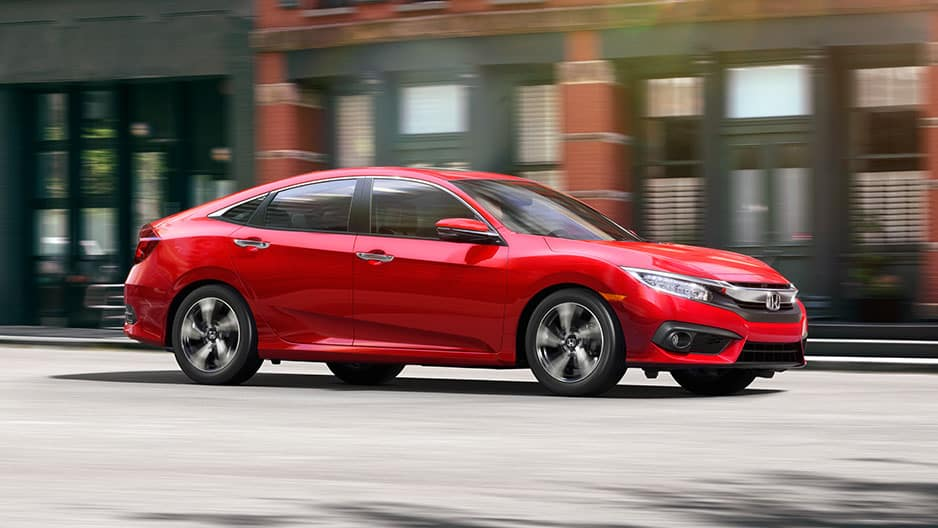 Exterior Features of the New Honda Civic at Garber in Rochester, NY