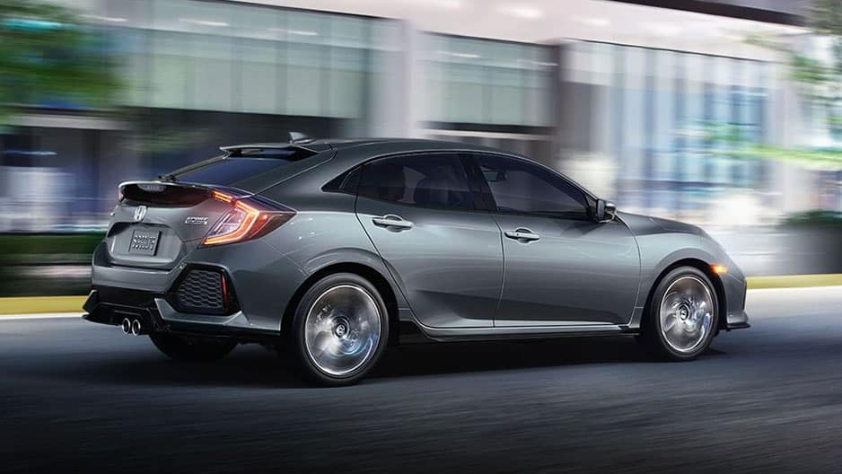 Performance Features of the New Honda Civic Hatchback at Garber in Rochester, NY