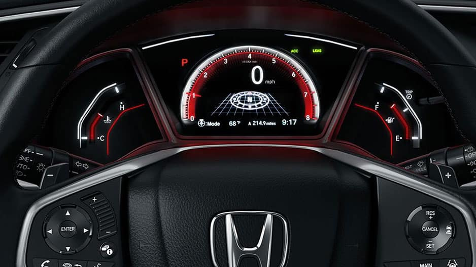 Safety Features of the New Honda Civic Hatchback at Garber in Rochester, NY