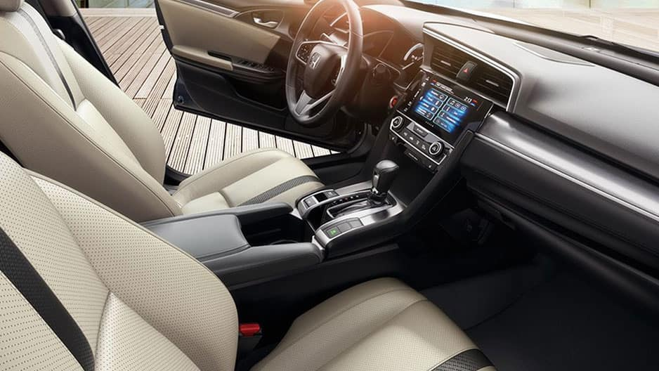 Interior Features of the New Honda Civic at Garber in Rochester, NY