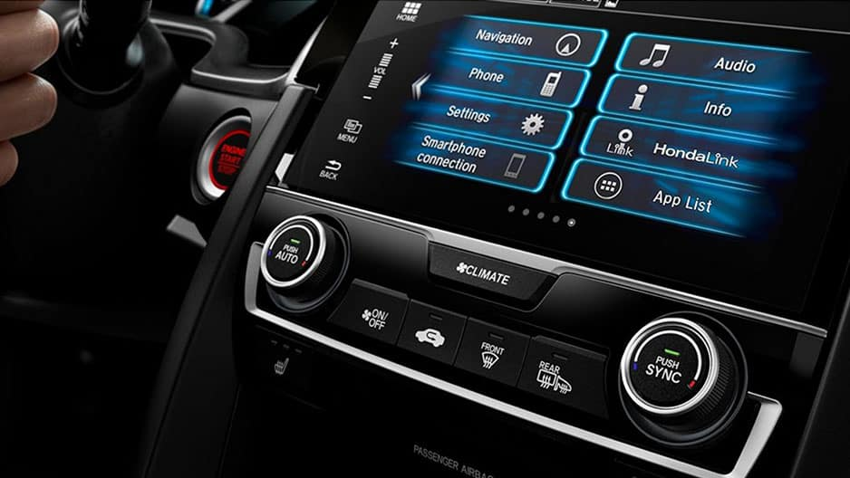 Technology Features of the New Honda Civic at Garber in Rochester, NY