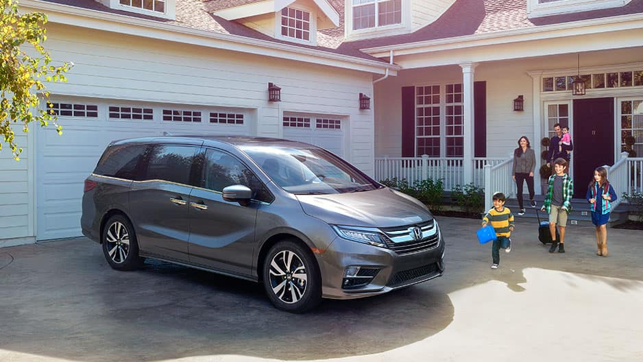Exterior Features of the New Honda Odyssey at Garber in Rochester, NY