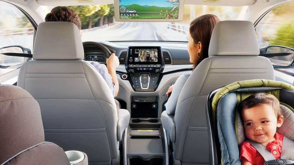 Interior Features of the New Honda Odyssey at Garber in Rochester, NY