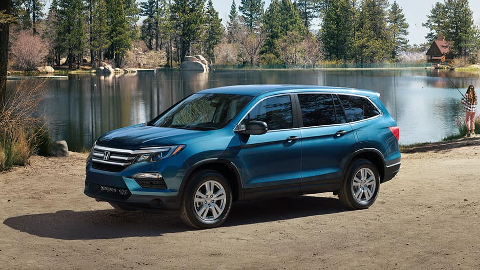 Exterior Features of the New Honda Pilot at Garber in Rochester, NY