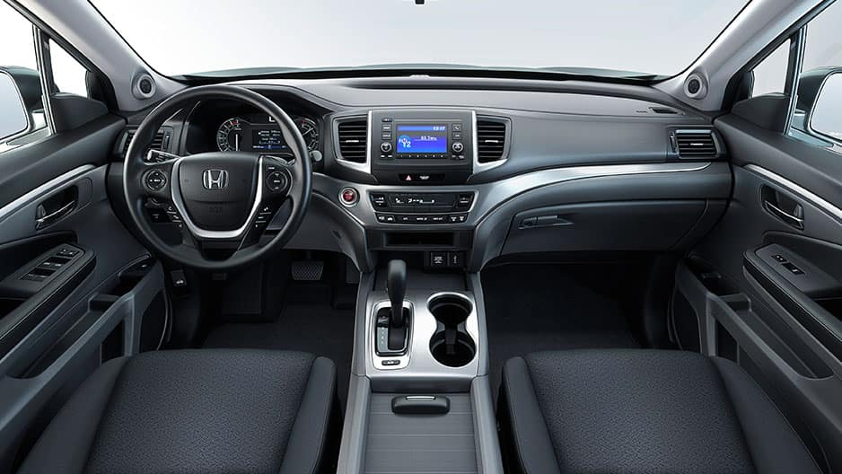 Interior Features of the New Honda Ridgeline at Garber in Rochester, NY