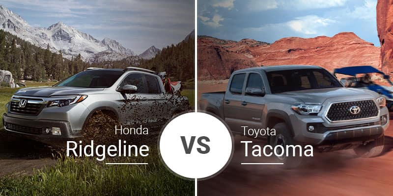 Honda Ridgeline Vs  Toyota Tacoma: Midsize Pickup Throwdown