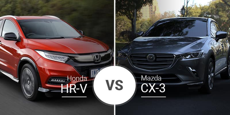 Mazda Cx 3 Vs Honda Hrv >> Honda Hr V Vs Mazda Cx 3