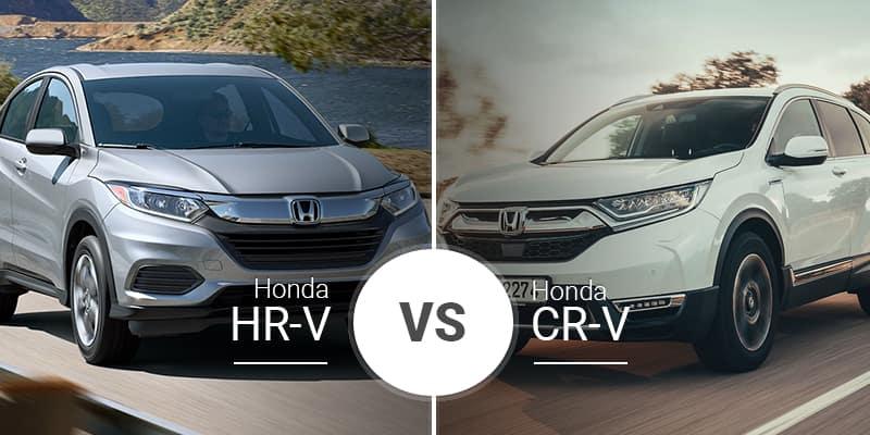 Honda Hr V Vs Honda Cr V